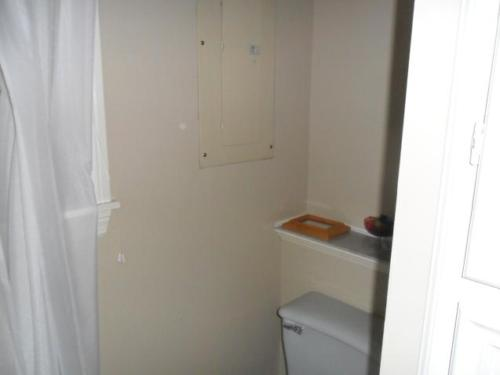 Electrical Panel in Bathroom