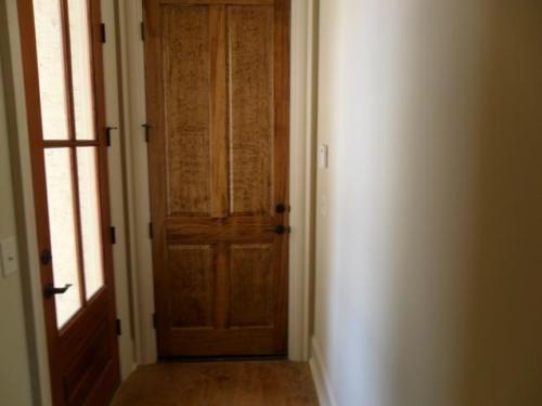 Door into Garage