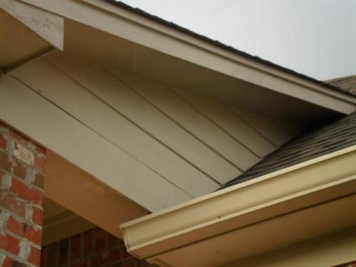 Clearance from Roof Covering