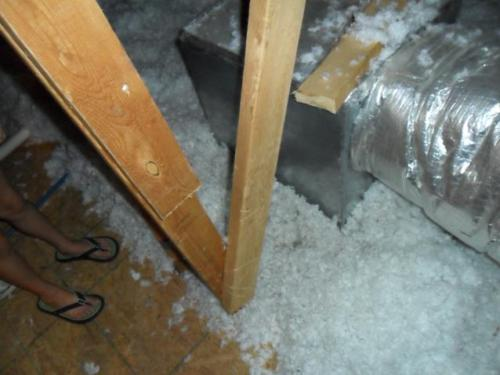 Air Duct Needs to be Sealed